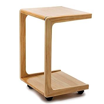 Tables Basses Table De Chevet En Bois Petite Mobile Petite