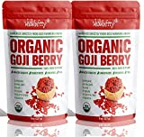 Wholeberry Goji berris,Raw Organic,1lb,directly from farmer union,fresh you can smell