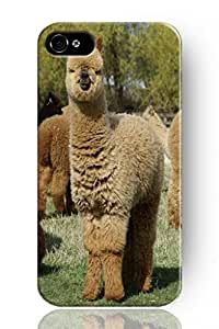 SPRAWL Funny Animal Alpaca Series Hard Case Cover for Apple iPhone 6 (5.5) -- Fuzzy Alpaca