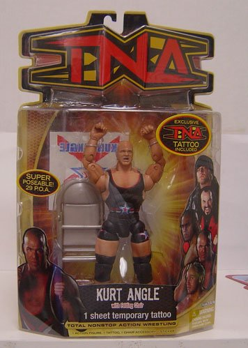 TNA Wrestling Series 8 Action Figure Kurt - Tna Marvel