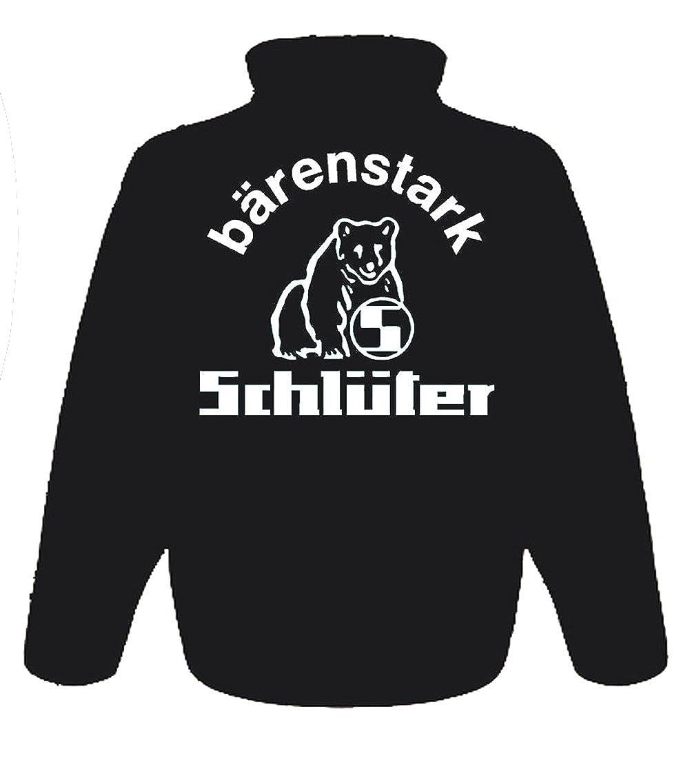 Schlüter Softshell-Jacke   Brust- und Rückendruck   339_282: Amazon ...