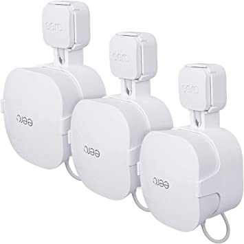 STANSTAR Wall Mount Brackets for EERO Pro WiFi System,Simple and Useful Designed,Space Saving,Sturdy Wall Mount Holder Without Messy Wires or Screws. 3 Pack