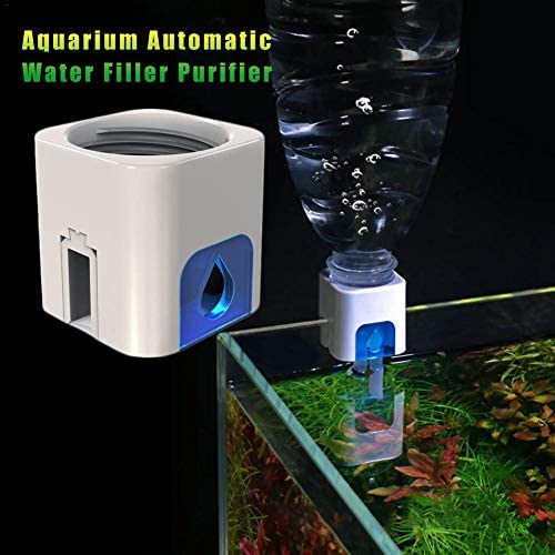 weemoment Aquarium Fish Tank Automatic Water Filler/Water Supply Device/Free Power Hydrator Refill Top Off System/Auto Hydrating Device/Aquarium Water Level Controller Tank Accessory
