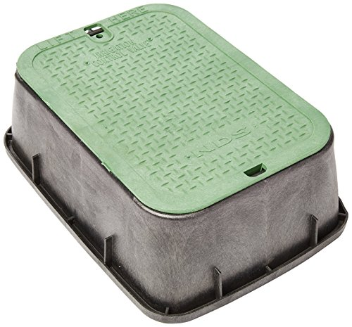NDS 115 Standard Series Extension with Overlapping Cover, 14-Inch by 19-Inch by 6-Inch, Green (Covers Valve Water)