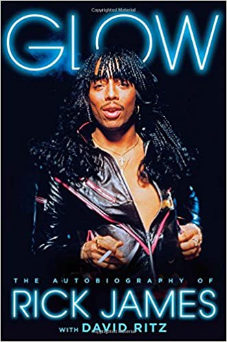 Image result for images of rick James glow book