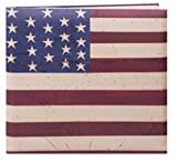 Pioneer 12 Inch by 12 Inch Postbound Designer Cover Memory Book, Warren Kimble Flag