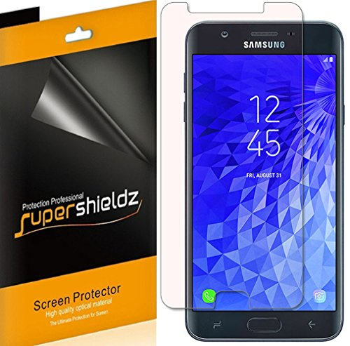(6 Pack) Supershieldz for Samsung Galaxy J7 V J7V (2nd Gen) and Galaxy J7 (2nd Generation) (Verizon) Screen Protector, High Definition Clear Shield (PET)