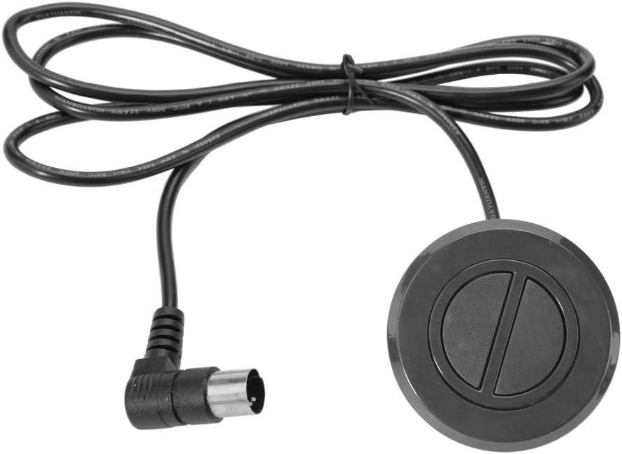 Wandisy Controlador de Mano - Sillón reclinable eléctrico Sofá 2 Botones Interruptor Redondo Silla de elevación Deslizante