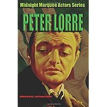 Peter Lorre (Midnight Marquee Actors Series)