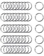 BN Boekenring, metalen ringen, 50 stuks, 30 mm, losse bladbinding, ringen, voor notebook, dagboek, fotoalbum, DIY planner