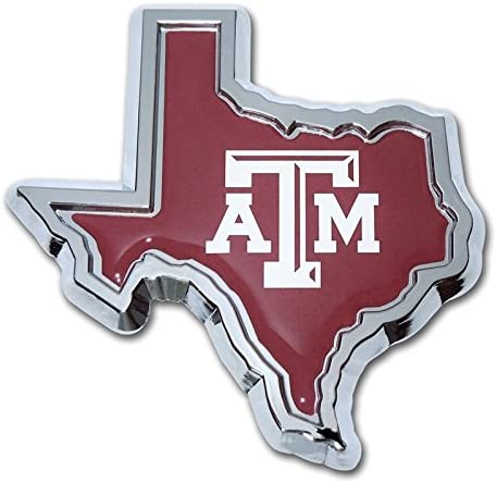 Corps of Cadets Texas A/&M University Aggies Metal Auto Emblem Many Available!