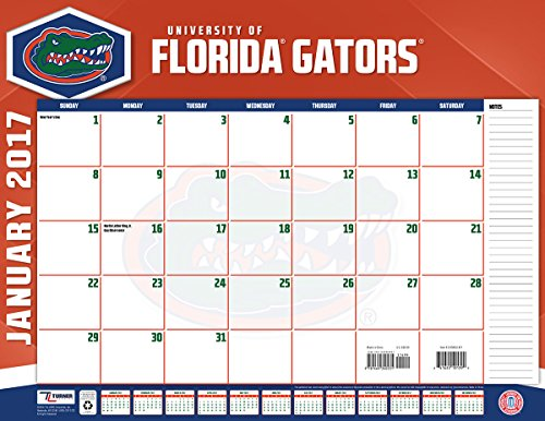 "Turner Licensing Sport 2017 Florida Gators Desk Pad Calendar, 22""X17"" (17998061477)"