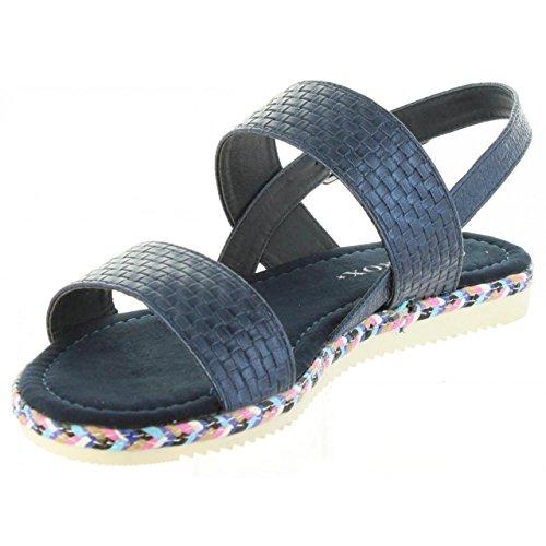 Sandales b7630 D Urban Pour 392741 Blue Femme waqZzwA