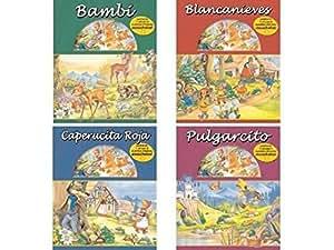 Libro CD de cuentos infantiles- Ediciones Saldaña