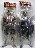Masked Rider Ryuki big size Soft Vinyl Figure 3 whole set of 2