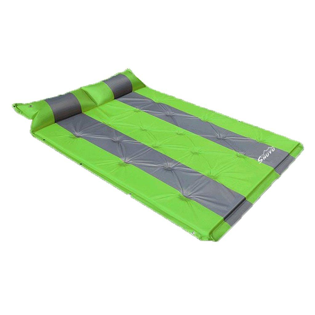 RMJXJJ-car air bed Auto-Reise-Bett-automatisches aufblasbares Bett SUV-aufblasbares Bett-Orange Grauer Punkt 3 cm (Mehrfarbig wahlweise freigestellt)