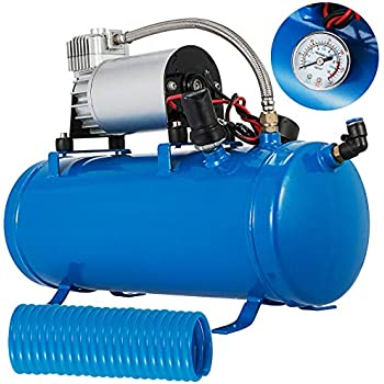 Amazon.com: Bestauto - Compresor de aire para tanque de 3 ...