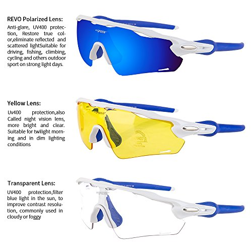 c395806db70 BATFOX Polarized Sports Sunglasses Glasses TAC Running Cycling - Import It  All