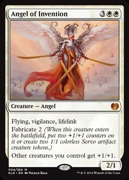 Magic: the Gathering - Angel of Invention (004/264) - Kaladesh - Foil