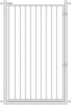 barrera seguridad Supergate Puerta Extra Alta Fácil De Cerrar, Blanca, Se Adapta A Espacios Entre 65 Cm A 140 Cm De Ancho Y 120 Cm De Alto (Tamaño : 65-70cm) : Amazon.es: Hogar