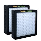 [Pack of 2]MarsHydro MARSII 900 Led Grow Light Full Spectrum High Penentration Led Grow Lamp the 420W True Watt Lamp Light & Lighting with Dual Veg/Flower Spectrum