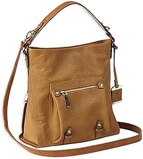 Chicago Bears Quilted Saddlebag Purse Handbag