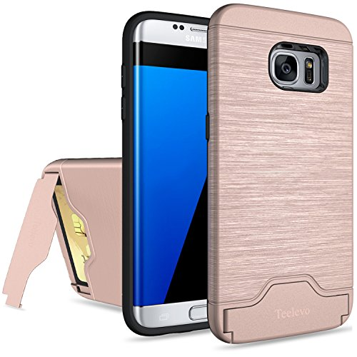 galaxy-s7-edge-case-teelevo-card-slot-holder-dual-layer-shock-absorption-protective-with-card-holder