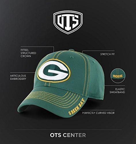 d32df3970edea Amazon.com   OTS NFL Adult Men s NFL Wilder Center Stretch Fit Hat   Sports    Outdoors