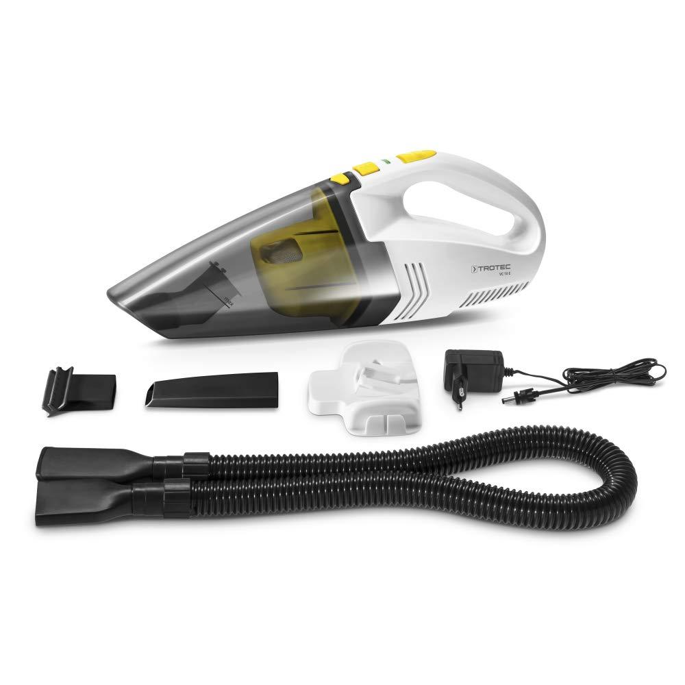 Acquisto TROTEC VC 10 E – Aspirapolvere senza fili per auto (bagnato e asciutto, 40 W, batteria agli ioni di litio, ricarica rapida) Prezzo offerta