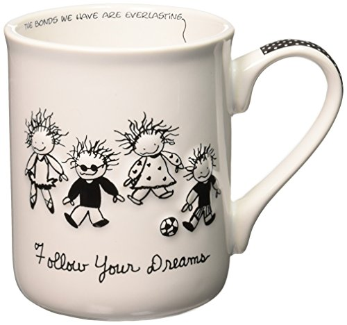 Enesco Children of the Inner Light Follow Your Dreams Stoneware Gift Mug, 16 (Follow Mug)