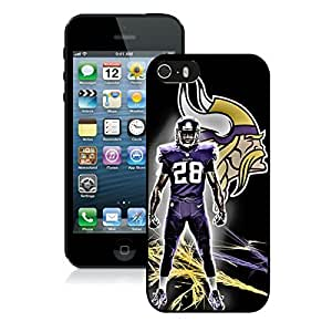 adrian peterson For iPhone 5S Black TPU Case Cover