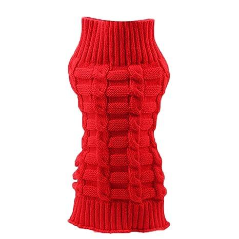 Suéter Perros Ropa para Perros Mascotas Abrigos Jerseys de Lana de Invierno para Mascotas