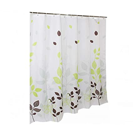 ZZYG Shower Curtain Bathroom Polyester Cloth Partition Thick Waterproof Mildew