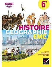 Histoire-Géographie Enseignement Moral et Civique 6e éd. 2016 - Manuel de l'élève (Histoire-Géographie Collège)