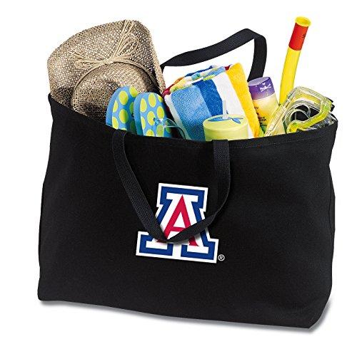 (Broad Bay Jumbo Arizona Wildcats Tote Bag or Large Canvas University of Arizona Shopping Bag)