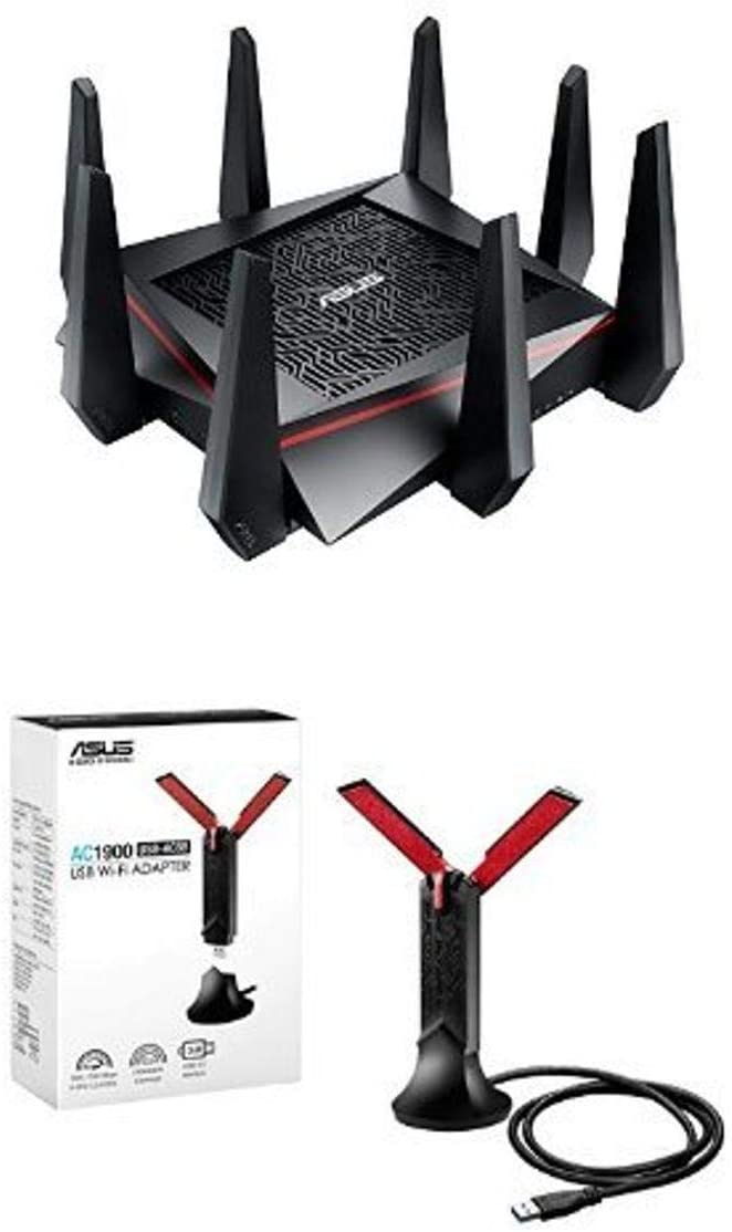 ASUS RT-AC5300 Tri-Band Gaming Router - 281