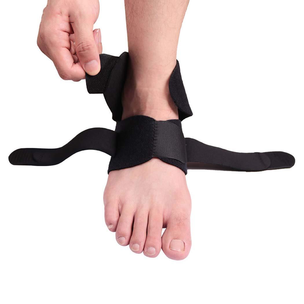 Achille Support de Cheville r/églable en Nylon Design Respirant adapt/é pour Tous Les Marche Course MISS/&YG Support de Cheville entorse etc. arthrite