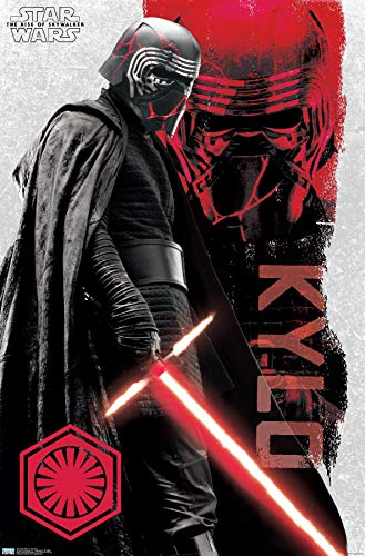 Trends International Star Wars: The Rise Of Skywalker - Kylo Ren Wall Poster, 22.375