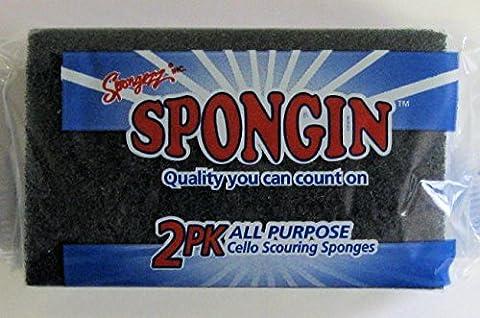 2pk All-Purpose Scouring Sponges (Cello Kitchen Sponges)