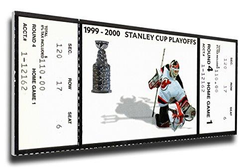2000 Stanley Cup Mega Ticket New Jersey Devils HNJDMT00SC