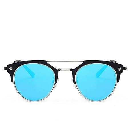Nalkusxi Gafas de Sol Redondas para Hombres, Mujeres, Lentes ...