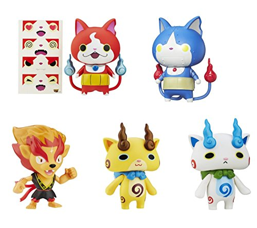 Winnie The Pooh Costume Party City (Kids Playset Mood Reveal Figures 5 Piece Set, Komasan Robonyan Blazion Jibanyan Komajiro)