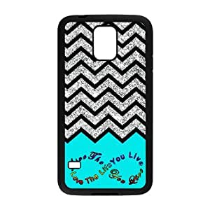 Nymeria 19 Customized Love The Life You Live Diy Design For Samsung Galaxy S5 Hard Back Cover Case DE-170