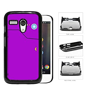 Pokedex Pocket Monsters Violet Hard Plastic Snap On Cell Phone Case Motorola Moto G
