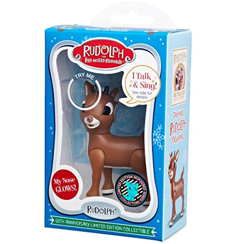1 X Rudolph the Red-Nosed Reindeer 50th Anniversary Limited Edition Collectible- Baby Rudolph