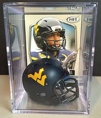 Virginia Mountaineers Helmet Shadowbox White