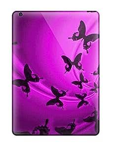 Ipad Air Butterfly Print High Quality Tpu Gel Frame Case Cover