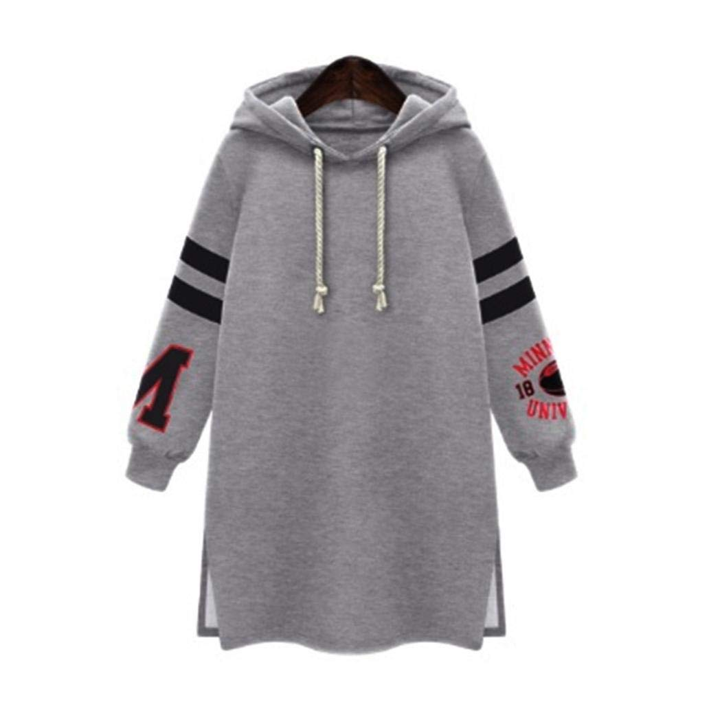 Hoodie Sweatshirt Women MITIY Fashion Casual Coat Tops Pullover Plus SizeXL-5XL by MITIY Women Sweatshirt (Image #1)