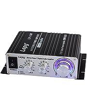 LEPY LP-V3S-BLACK LP-V3S digitale versterker 25Wx2, zwart, zwart