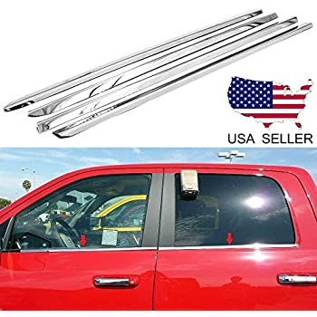 For 2010-2014 2015 2016 2017 Dodge Ram 2500//3500 Stainless Steel Window Sill